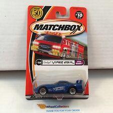 Dodge Viper GTS R #10 * Blue * Matchbox * HB36