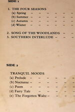 BOOSEY & HAWKES MUSIC LIBRARY 3003 LP ~ VIVIAN ELLIS FREDERIC CURZON MONIA LITER