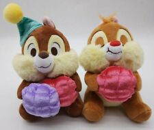 New CHIP'N DALE / CHIP AND DALE PLUSH DOLL HAT HELLO CHIP & DALE DISNEY STORE