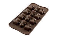 SILIKOMART stampo in silicone per cioccolatini forma di Omini 3D Mood Choco