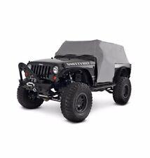 SmittyBilt Water-Resistant Cab Cover for 07-17 Jeep JK Wrangler 2 Door, 1068