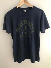 "Vtg Poly/Cotton Thin Distressed 70s 80s T Shirt ""Sweetwater Floor Hockey� Xl"