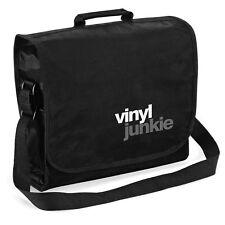 Vinyl Junkie Record Bag - Audiophile Retro Hi-Fi LP DJ, Christmas Gift Him Dad