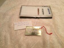 Vintage Men's Unused New Old Stock 1960's Embroidered Handkerchiefs Hankies Box