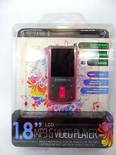 Riptunes Mp3 and Video Player 1.8 LCD/ 8GB MP1898P - 8 GB - Pink NEW!!