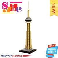 City Architecture Street View The Cn Tower Model Building Blocks Creator MOC0120