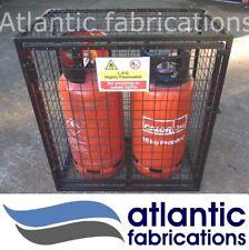 2 x Propane 19kg Gas cage - cylinder storage bottle storage with base