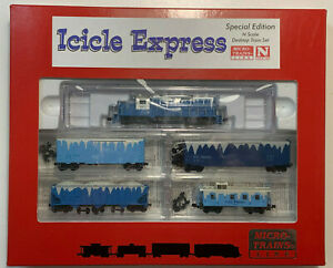 N scale Icicle Express Train- Micro Trains MTL - Special Edition -Holiday