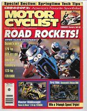Motorcyclist Magazine May 1995- Suzuki GSX-R1100, Kawasaki Vulcan 800