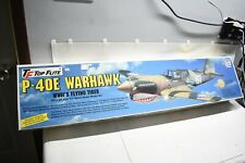 NOS New Top Flite Gold Edition P-40E Warhawk Flying Tiger RC Model Airplane Kit