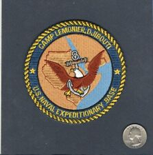 Camp Lemonier Djibouti Us Navy Naval Expeditionary Base Squadron Jacket Patch