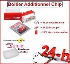 BOITIER ADDITIONNEL CHIP PUCE OBD2 DIESEL VOLKSWAGEN GOLF 4 1.9 TDI 110 CV