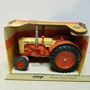 Toy 1986 Ertl Case 600 Tractor 1/16 Scale Farm Toy & Box NOS #289