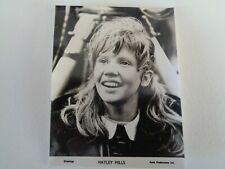 Hayley Mills  SMALL  PROMO PHOTOGRAPH GREETINGS