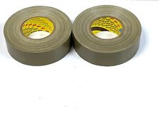 "2 New 3M Treated Cloth 390- Military Olive Requirements- 1.89"" X 60YD- Free Ship"