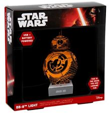 "STAR WARS BB-8 Light / Leuchte / Dekoleuchte - 3D Effect - 10"" / 25 cm"