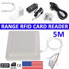 Car Access Control System UHF RFID 5M Long Distance Parking Card Reader,12 dbi