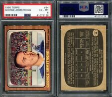 1966 TOPPS #84 GEORGE ARMSTRONG PSA 6 (5128)