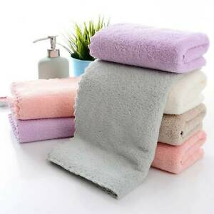 Soft Absorbent Quick Dry Bath Towel Face Hand Washcloth Microfiber Wipe Cloth