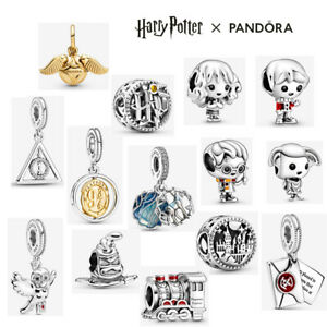 ALE S925 Genuine Pandora Harry Potter Bead Dangle Charm With Gift Box