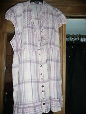 George V Neck Checked Casual Tops & Shirts for Women