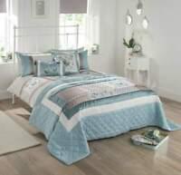 Coloroll Jacobean Border Embroidered Double Size Duvet Bedding Set