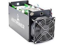 Bitcoin-Miner Bitmain AntMiner S5 ASIC Miner 1150GH/s 1.1TH/s + PSU mit Netzteil