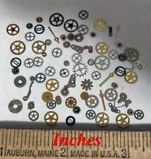 NAIL ART 40 FLAT Gears Watch Parts Manicure Design Resin Steampunk Pieces Jewels
