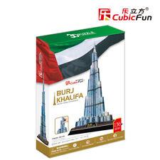 Burj  Khalifa  - (S.T.E.A.M) CubicFun 3D puzzle MC133h 136 pcs