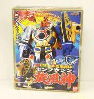 Power Rangers Ninja Storm Megazord Figure DX SENPUUJIN Bandai Hurricaneger Robot