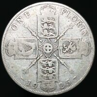 1925   George V One Florin   Silver   Coins   KM Coins