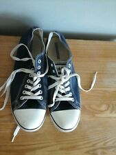 MENS NAVY CONVERSE ALL STAR SIZE UK 10