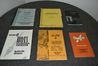 NASA 1960s LOT 5 AEROSPACE MANUALS & INFO BOOKLETS+DIRECTORY - MSFC PROJECT MGR