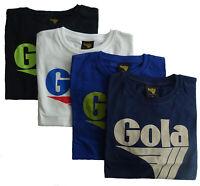 T-shirt Maglia Maniche Corte GOLA Classic 100% Cotone Uomo Men GC000