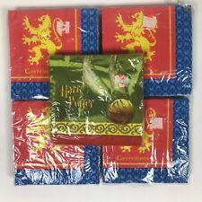 Harry Potter Beverage Napkins Gryffindor Quidditch 5 Packs Drink Cocktail