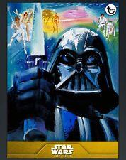 Star Wars Card Trader Gold 40th Anniversary New Hope Showcase - Darth Vader