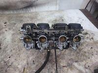 1996 Yamaha YZF 600 YZF600 Carburetors Carburetor Assembly Carbs