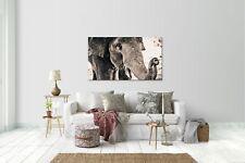 Wandtattoo Wandsticker Aufkleber Elefant Grösse: 120 x 70 cm