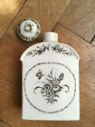 18 Th Century Encre De Chine Chinese Porcelain Tea Box Qing Dynasty