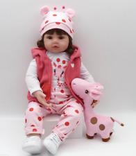 Bambole Hot Sale Lifelike Silicone Reborn Baby Doll Bambole rinascere Xmas Gift