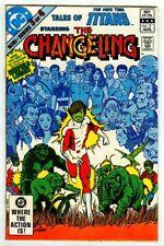 Tales of the New TEEN TITANS #3 (1982) Origin CHANGELING! Beast Boy! w/ Pin-Up!