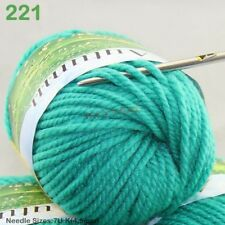 1 Ball x50g Fashion Soft Worsted Chunky Hand DIY Sweater Wool Knitting Yarn Gift