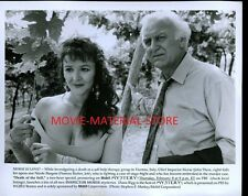 "John Thaw Frances Barber Death Of The Self Mystery Original 8x10"" Photo #K4264"