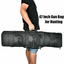 """47"""" Double Padded Tactical Carbine Rifle Range Gun Carry Case Backpack Molle Bag"""