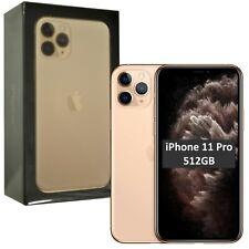 "New 5.8"" Apple iPhone 11 Pro A2215 512GB MWCF2B/A Gold Factory Unlocked SIMFree"