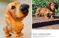 Cute Nod Bobble Head Bobblehead Dachshund Dog Toy Car Inner Home Decor Gift US