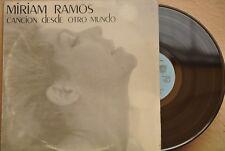 MIRIAM RAMOS -CANCION DESDE OTRO MUNDO- CUBAN LP TROVA POETRY MUSIC