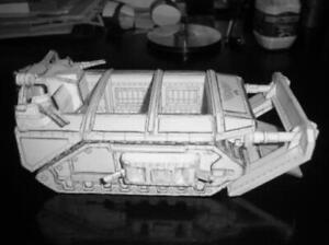 Warhammer 40k Gorgon Armoured Assult Transport Unpaint DIY Card PAPER Model Kit