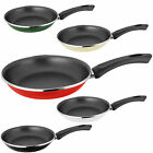Judge Induction Coloured Frypan Enamel Coated Non Stick Frying Pan 24cm