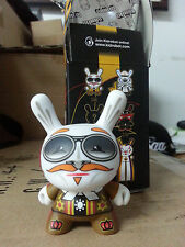 """Kidrobot 3"""" Dunny Mardivale 2014 Scribe Rare Chase 1/64  Pilot huck gee bell"""